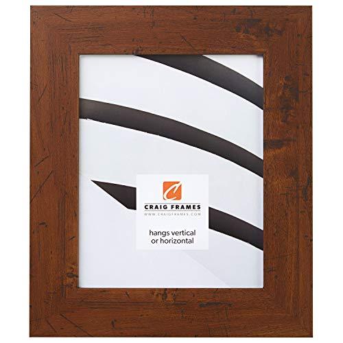 Craig Frames FM74DKW 11 by 14-Inch Rustic Photo Frame, Smooth Grain ...